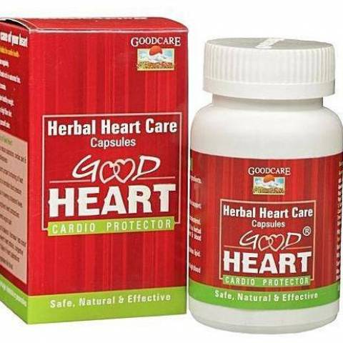 Гуд Харт, кардиопротектор  (Good Heart, GoodCare), 60 капсул